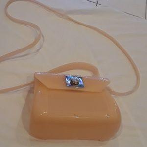 Furla mini jelly crossbody.